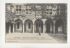 Anvers Museum Plantin Moretus Belgium Vintage U/B Postcard 356b