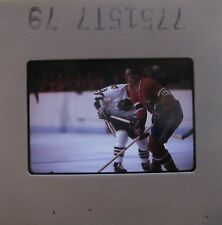 BOBBY HULL Chicago Black Hawks LARRY ROBINSON MONTREAL CANADIENS ORIG SLIDE 2