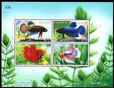 2002 Betta,Siamese Fighting Fish,peaceful betta,Fische,Poissons,Thailand,MNH