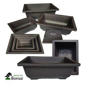 Plastic Bonsai training Pots - Choice of size