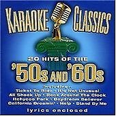 Karaoke Classics: 50's And 60's, Showtime Orchestra & Singers, Very Good CD