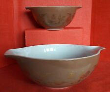 Vintage Pyrex Early American Cinderella Mixing Bowls