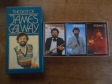The Best Of James Galway 3 x Audio Tape Cassettes Box Set Dolby Readers Digest