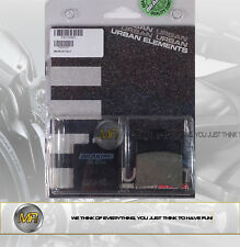 PER YAMAHA AEROX 100 DAL 2000 AL 2002 COPPIA PASTIGLIE FRENO ANTERIORI BRAKING S