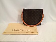LOUIS VUITTON Shoulder Bag Monogram Leather Looping - Great Condition!