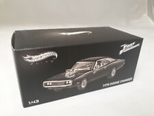 Hot Wheels Elite The Fast and the Furious 1970 Dodge Charger 1/43