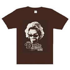 The Big Lebowski The Dude Minds, Man  t-shirt  NEW