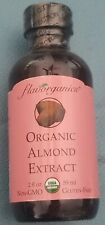 Flavorganics Organic Almond Extract Non-GMO, gluten free NEW