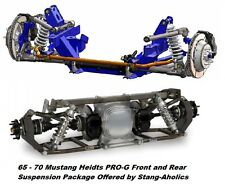 1965 66 67 68 69 70 Heidts Mustang Pro-G Front and Rear Suspension Package
