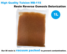 1 Litre DI High Quality Tulsion MB-115 Resin Reverse Osmosis Deionization Aquati