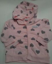 Calvin klein baby girl 0-3m sweater hood pink and gray