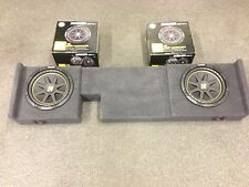 2004 to 2008 Ford F150 Supercrew Supercab box 2 10 kicker subs 2005 2006 2007