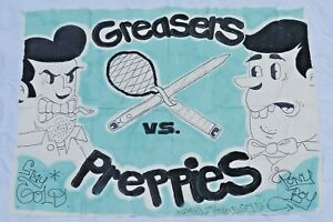 The Outsiders Greasers Vs. Preppies Painted Canvas Parker Day Fashion Street Art