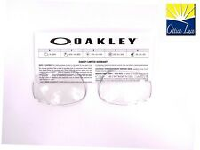 1af927062 Lenti Ricambio OAKLEY Racing Jacket Vented 9171 clear available Jawbone