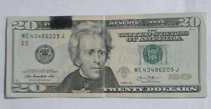 2013 $20 FRN Ink Smear Error