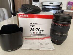 Canon EF 24-70mm f/2.8 L USM Excellent