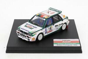Lancia Delta HF Integrale Rallye Portugal 1993 Bica Capelo 1:43 Trofeu NEU