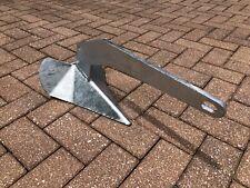 Marine Metals 22lbs 10kg Galvanized Steel Delta Style Plow Boat Anchor