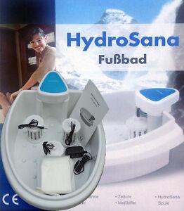 Hydrosana, Fußbad  plus  3 Spulen, Hygienebeutel u.1000g Aktivierungssalz