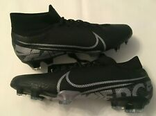 NEW NIKE MERCURIAL SUPERFLY 7 PRO FG BLACK SOCCER CLEATS AT5382-001 MENS SIZE 9
