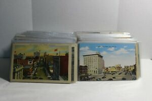 United States Vintage Postcards UDB DB WB Linen RPPC Lot of 500