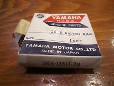 NOS 1978-81 YAMAHA YZ125 YZ 125 2ND OVER .50 PISTON RING 2K6-11611-20-00