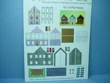 Dollhouse Miniature Grandpa's Toy Dollhouse Decoratring Sheet #GD102 Dragonfly