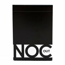 NOC Out Black 2017 Playing Cards Limited Rare Edition Air-Cushion Finish Deck