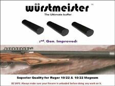 WURSTMEISTER CUSTOM BUFFER FOR RUGER 10/22 & MAGNUM - Set of 3 - NEW! THE BEST!