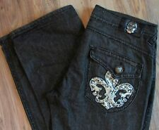 Laguna Beach Black Premium Denim Jeans Mens 38 X 34 Straight Leg  Made in USA