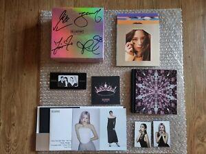 Yg Blackpink The Album Promo Autographed Hand Signed Full Set