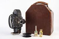 Vintage Bell & Howell Filmo 70D 16mm Motion Picture Cine Camera w Case & Oil V18