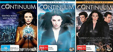 Continuum Season 1, 2 & 3 : NEW DVD