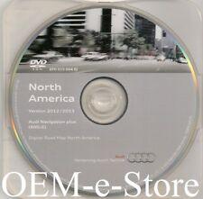 2008 2009 2010 2011 2012 2013 2014 Audi R8 TT RNS-E Navigation DVD Map U.S CAN