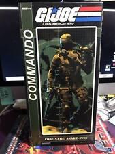 "Sideshow 12"" GI Joe Commando Snake Eyes 2009 MIB PRICE SLASH!"
