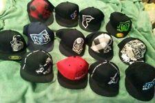 18 rare unused fitted caps 12$ each! s-xl, DC, Metal mullisha