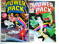 POWER PACK #1 & #2 (1984) NM 1ST APPEARANCE - HOT  MARVEL TV SHOW  - Simonson!
