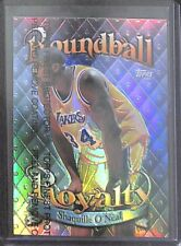 1998-99 Topps Chrome Roundball Royalty Refractor #R9 Shaquille O'Neal