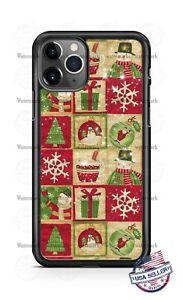 Santa Christmas Vintage Gift Hot Chocolate Phone Case For iPhone Samsung Google