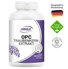 OPC Traubenkernextrakt Premium OPC aus französischen Weintrauben 240 Kapseln