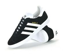 new products 98ed3 cebbf adidas Originals Gazelle Black White Mens Vintage Shoes Classic SNEAKERS  BB5476 UK 7