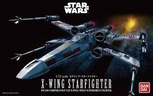 Bandai Hobby Star Wars X-Wing Starfighter 1/72 Scale Model Kit USA Seller