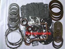 For Ford Mazda CD4E Transmission Master Rebuild Kit W/ Steel Friction Kit 94-ON