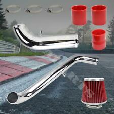 """2.5/"""" Chrome Cold Air Intake Induction System Kit Mitsubishi Eclipse 2.0L 95-99"""