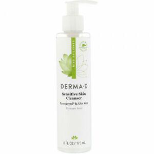 Derma -E  Sensitive Skin Cleanser 6 Fl Oz / 175 ML - Pycnogenol & Aloe Vera