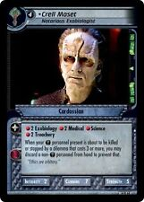 Star Trek CCG 2E What You Leave Behind Crell Moset, Notorious Exobiologist 14R68