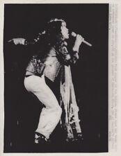 1973 Vintage Press Photograph MICK JAGGER - Knebworth, England - Rolling Stones