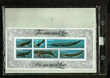 South West Africa /  1980 Whales  /  1980 Dams / MNH   no 2527