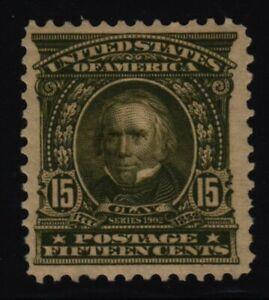 1903 Henry Clay Sc 309 MHR VF single CV $185