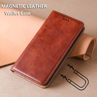 For Huawei P Smart 2021/2020/2019 Z Magnetic High Flip Leather Wallet Case Cover